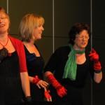 v.l.: Gudrun Stark, Priska Habitzreither, Doris Pfeff