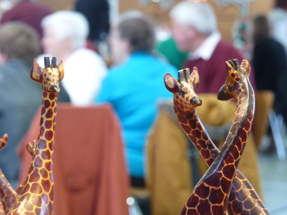 Giraffen kl